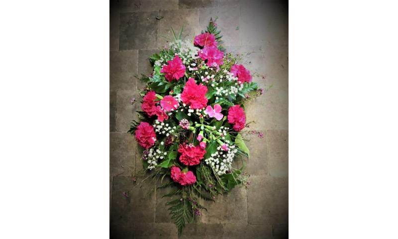 Pink lady wreath