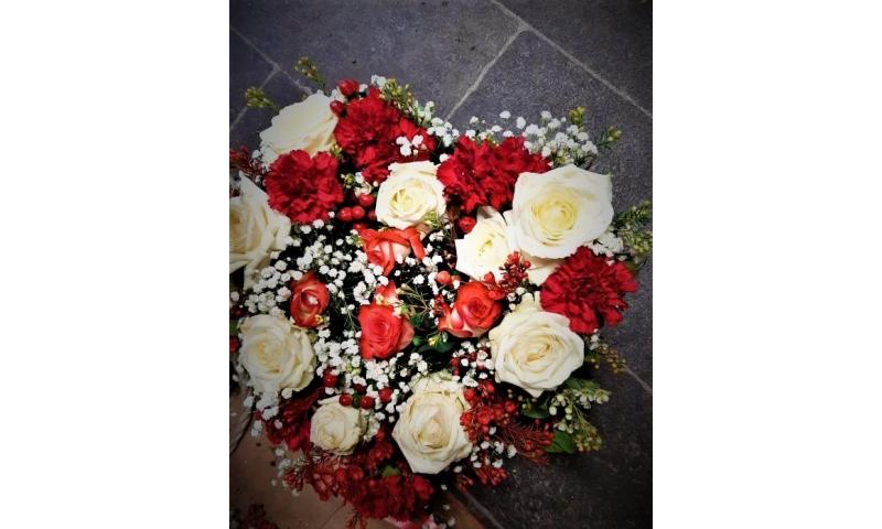 Sweet Rose Heart